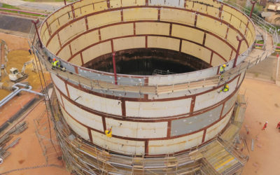 REVAMPING OF TWO STORAGE TANKS AT DJENOS' TERMINAL – REPUBLIC OF THE CONGO: A DEMONSTRATION OF OUR SKILLS